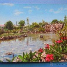 Cartes Postales: POSTAL DE MURCIA. AÑO 1976. JUMILLA, CASCADA PARQUE ESTACADA. 387. Lote 45174918
