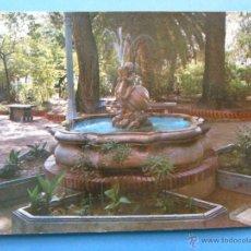 Cartes Postales: POSTAL DE MURCIA. AÑO 1976. JUMILLA, PARQUE GENERAL MOLA. 389. Lote 45174929