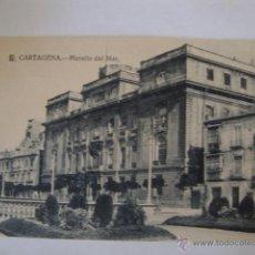 Postales: ANTIGUA TARJETA POSTAL CARTAGENA MURCIA. MURALLA DEL MAR ED. MELERO. LOTA125. Lote 45206405