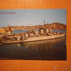 Postales: POSTAL CARTAGENA PUERTO CIRCULADA. Lote 45540026