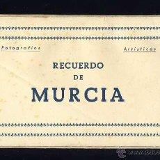 Postales: LIBRITO DESPLEGABLE CON 10 POSTALES DE MURCIA (ED. ARRIBAS). VER FOTOS ADICIONALES. Lote 45878487