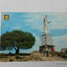 Postales: POSTAL DE TOTANA, MONUMENTO SAGRADO CORAZON. Lote 59234325