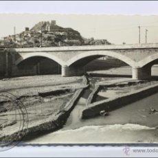 Postales: ANTIGUA POSTAL FOTOGRÁFICA - 7. LORCA. PUENTE DEL RÍO - ESCRITA AL DORSO, AÑO 1959. Lote 46480985