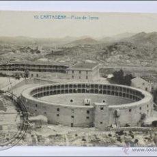 Postales: ANTIGUA POSTAL FOTOGRÁFICA - 10. CARTAGENA. PLAZA DE TOROS - SIN CIRCULAR. Lote 46481106