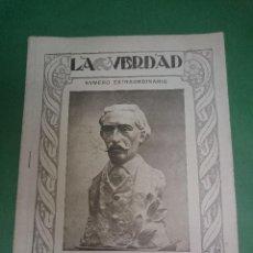Postales: HOMENAJE A SELGAS. LA VERDAD SABADO 10 DE JUNIO 1922. Lote 46664754