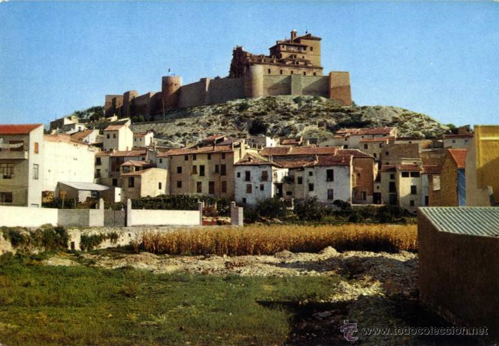MURCIA, CARAVACA 1 CARAVACA VISTA DEL CASTILLO SIN EDITOR (Postales - España - Murcia Moderna (desde 1.940))