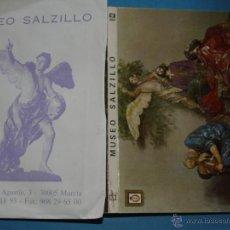 Postales: 10 POSTALES Y SOBRE DE MURCIA. MUSEO SALZILLO. IMÁGENES RELIGIOSAS. AÑOS 60. 566. Lote 47024207