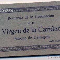 Postales: RECUERDO DE LA CORONACIÓN DE LA VIRGEN DE LA CARIDAD -PATRONA DE CARTAGENA- FOTO CASAU-. Lote 47202548
