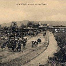 Postales: MURCIA.- PARQUE DE RUIZ HIDALGO. Lote 47202773