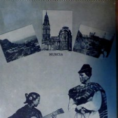 Postales: MURCIA: POSTAL COSTUMBRISTA. FOTOTIPIA J ROIG. PRINCIPIOS DE SIGLO. Lote 47206824