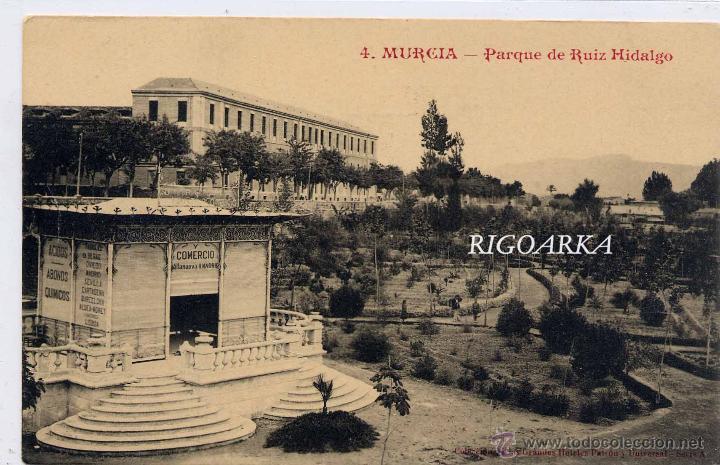 Postales: MURCIA.- PARQUE DE RUIZ HIDALGO - Foto 2 - 47202773