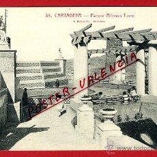 Cartoline: POSTAL CARTAGENA, MURCIA, PARQUE ALFONSO TORRE, P97508. Lote 47449727