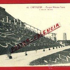 Cartoline: POSTAL CARTAGENA, MURCIA, PARQUE ALFONSO TORRE, P97510. Lote 47449753