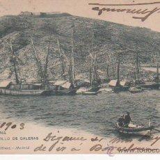 Postales: CARTAGENA.- CASTILLO DE GALERAS. Lote 47838196