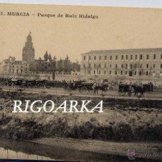 Postales: MURCIA.- PARQUE DE RUIZ HIDALGO. Lote 47951393