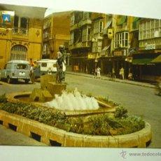 Postales: POSTAL CARTAGENA.-ESCRITA - FUENTE Y MONUMENTO ICUE--BB. Lote 48840396