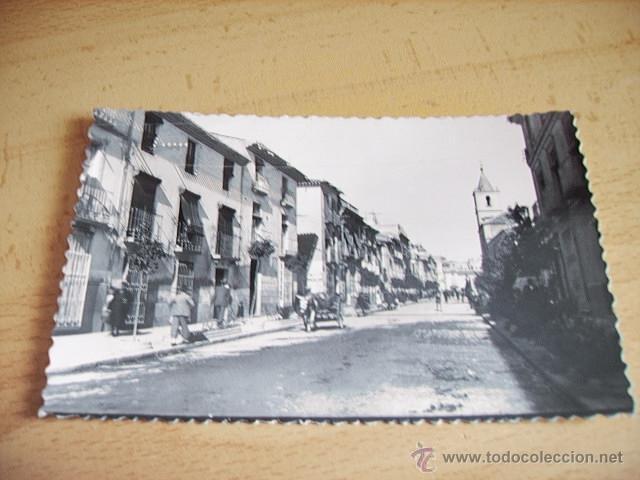 LORCA ( MURCIA ) CALLE SAN FRANCISCO (Postales - España - Murcia Moderna (desde 1.940))
