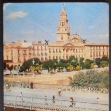Postales: (30866)POSTAL ESCRITA,PUENTE VIEJO SOBRE EL RÍO SEGURA,MURCIA,MURCIA,MURCIA,CONSERVACION,VER FOTOS. Lote 49121631