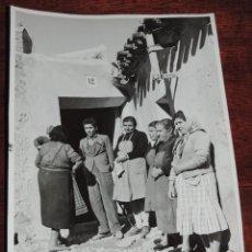 Postales: FOTOGRAFIA DE ALEDO (MURCIA) MUJERES DEL PUEBLO, ES MUY GRANDE, MIDE 24 X 18,3 CMS.. Lote 49385257