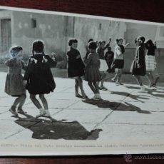 Postales: FOTOGRAFIA DE ALEDO (MURCIA) NIÑAS DEL COTO ESCOLAR MARQUESES DE ALEDO, BAILANDO PARRANDAS, ES MUY G. Lote 49385357
