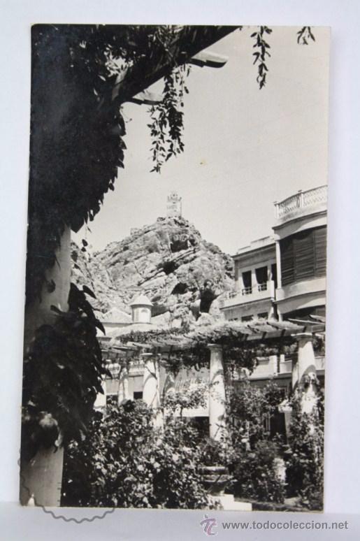ANTIGUA POSTAL / FOTOGRAFÍA DE ALHAMA DE MURCIA. AÑO 1956 - CIRCULADA (Postales - España - Murcia Moderna (desde 1.940))
