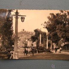 Postales: POSTAL DE LORCA (MURCIA) - 39 - ALAMEDA DE LA VICTORIA (CIRCULADA AÑOS 50/60 APROX). Lote 49776689