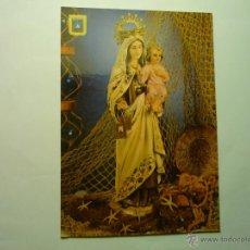 Postales: POSTAL CARTAGENA .-NTRA.SRA. DEL CARMEN .-PATRONA DE LA MARINA. Lote 49910134