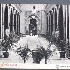 Postales: POSTAL DEL CASINO DE MURCIA: PATIO CENTRAL A PRINCIPIOS DEL SIGLO XX. Lote 49958997