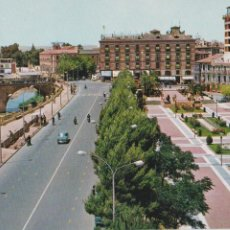 Postales: P-1683. POSTAL FOTOGRAFICA DE MURCIA. GLORIETA DE ESPAÑA. HOTEL VICTORIA.. Lote 50036328
