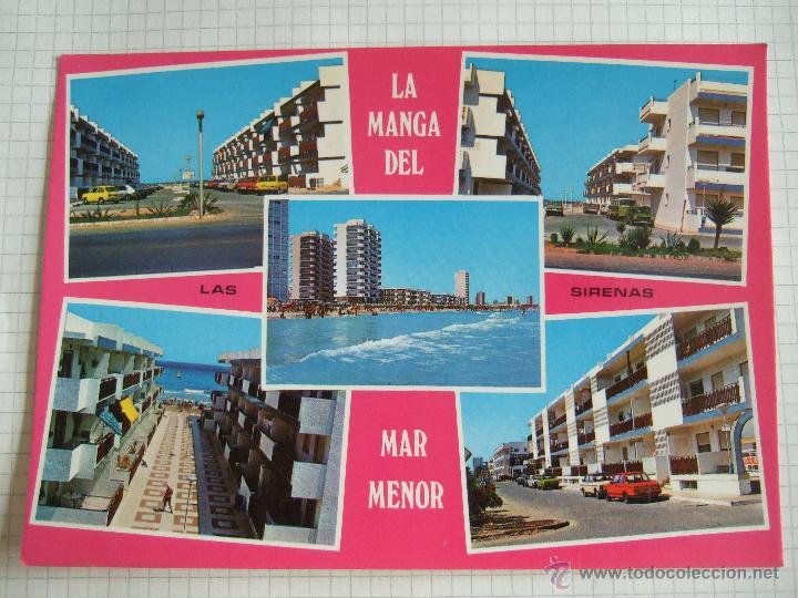 POSTAL MURCIA - LA MANGA DEL MAR MENOR - LAS SIRENAS - 1980 - BOYCER - SIN CIRCULAR (Postales - España - Murcia Moderna (desde 1.940))
