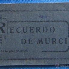 Postales: BLOCK CON 15 TARJETAS POSTALES DE MURCIA. EDICION MELERO.. Lote 51132852