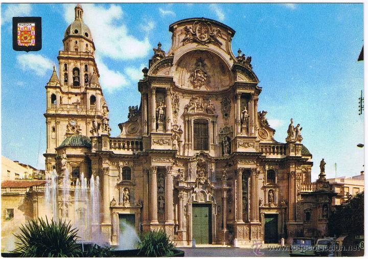 MURCIA - FACHADA CATEDRAL (Postales - España - Murcia Moderna (desde 1.940))