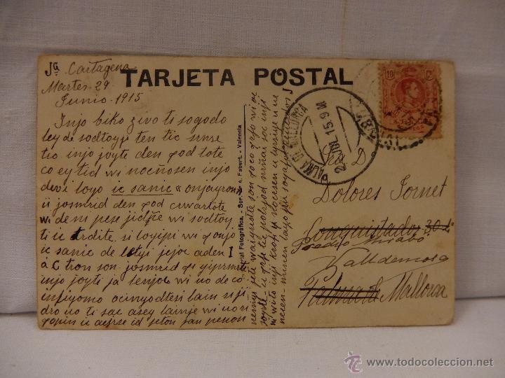 Postales: Cartagena. Punta del Galo. Murcia. Circulada en 1915. - Foto 2 - 51495814