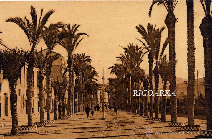 CARTAGENA.- CALLE DEL REAL (Postales - España - Murcia Antigua (hasta 1.939))