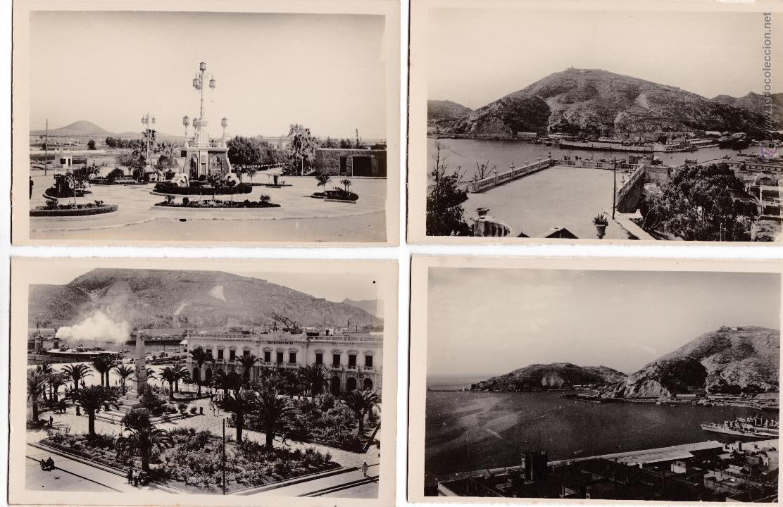 P-2697. LOTE 5 POSTALES CARTAGENA. ED.AISA. (Postales - España - Murcia Moderna (desde 1.940))
