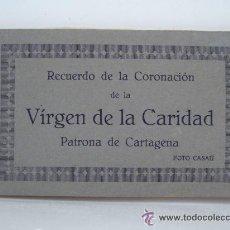 Postales: CARTAGENA - CORONACION DE LA VIRGEN DE LA CARIDAD - ALBUM DE 20 POSTALES - FOTO CASAU LIBRERIA. Lote 53334153