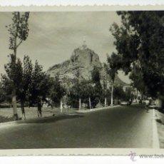 Postais: POSTAL MURCIA MONTEAGUDO MONUMENTO SAGRADO CORAZÓN JESÚS ED COY ESCRITA 1959. Lote 110456588