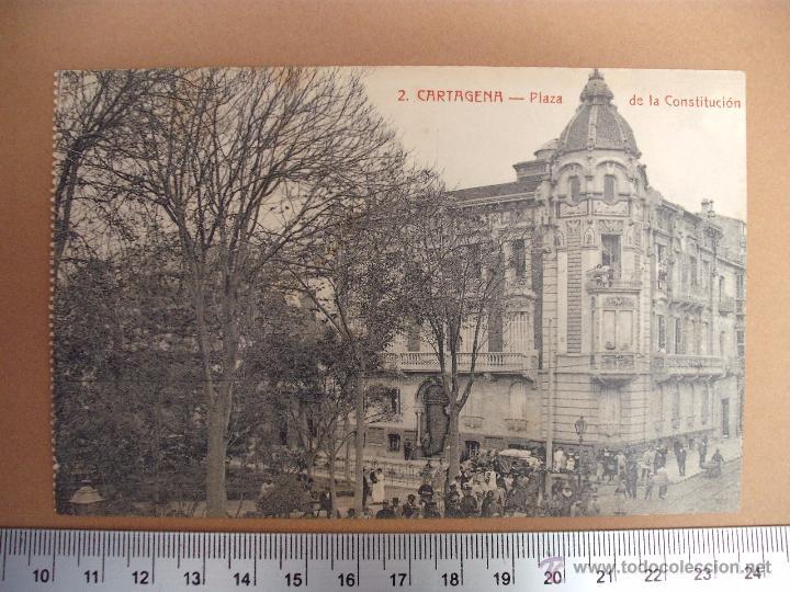 Postales: CARTAGENA -SOBRE 1900 -1920 -LA INDUSTRIAL FOTOGRAFICA- VALENCIA - 20 POSTALES - Foto 2 - 52391491
