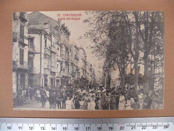 Postales: CARTAGENA -SOBRE 1900 -1920 -LA INDUSTRIAL FOTOGRAFICA- VALENCIA - 20 POSTALES - Foto 4 - 52391491