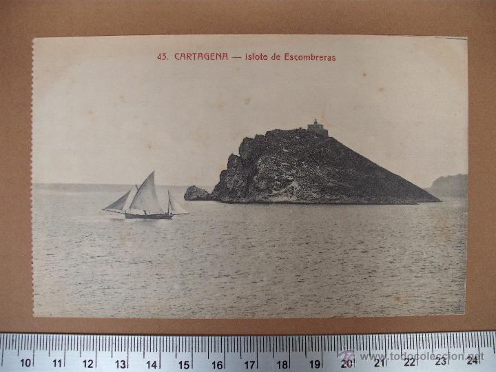 Postales: CARTAGENA -SOBRE 1900 -1920 -LA INDUSTRIAL FOTOGRAFICA- VALENCIA - 20 POSTALES - Foto 5 - 52391491