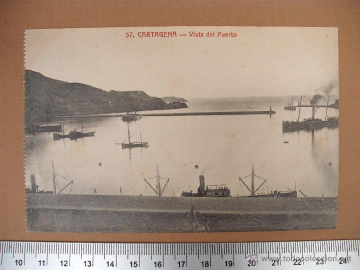 Postales: CARTAGENA -SOBRE 1900 -1920 -LA INDUSTRIAL FOTOGRAFICA- VALENCIA - 20 POSTALES - Foto 9 - 52391491