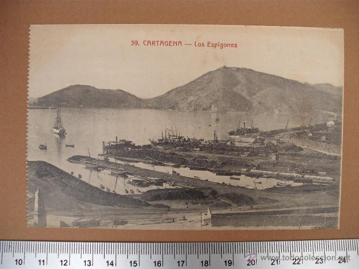 Postales: CARTAGENA -SOBRE 1900 -1920 -LA INDUSTRIAL FOTOGRAFICA- VALENCIA - 20 POSTALES - Foto 10 - 52391491