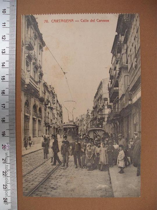 Postales: CARTAGENA -SOBRE 1900 -1920 -LA INDUSTRIAL FOTOGRAFICA- VALENCIA - 20 POSTALES - Foto 15 - 52391491