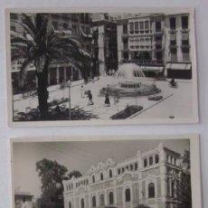 Postales: DOS POSTALES FOTOGRAFICAS DE MURCIA. Lote 52663076
