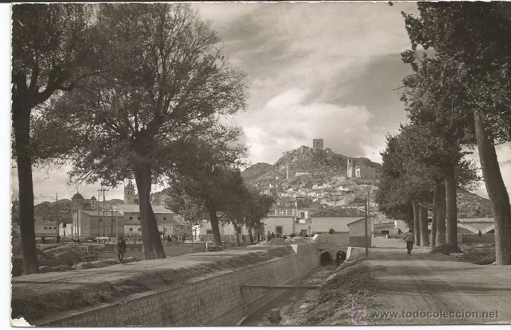 LORCA - CANAL DE SAN DIEGO. AL FONDO CASTILLO - Nº 41 (Postales - España - Murcia Moderna (desde 1.940))