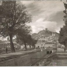 Postales: LORCA - CANAL DE SAN DIEGO. AL FONDO CASTILLO - Nº 41. Lote 52664560