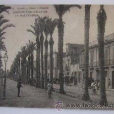Postales: ANTIGUA POSTAL DE CARTAGENA - CALLE DE LA MAESTRANZA. Lote 52735920