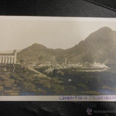 Postales: TARJETA POSTAL FOTOGRAFICA DE CIEZA MURCIA - VISTA PANORAMICA Nº 1. Lote 52759450