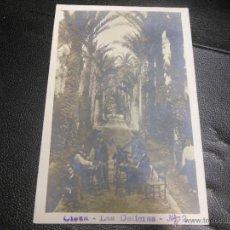 Postales: TARJETA POSTAL FOTOGRAFICA DE CIEZA MURCIA - LAS DELICIAS Nº 2. Lote 52759507