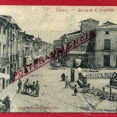 Postales: POSTAL LORCA , MURCIA , BARRIO DE SAN CRISTOBAL , CALLE MAYOR ,ORIGINAL , P82483. Lote 52820870